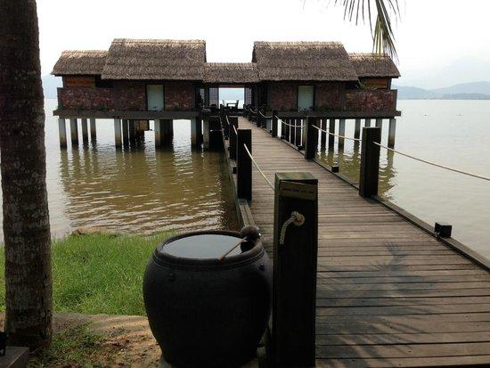 Vedana Lagoon Resort & Spa: Looking towards our villa
