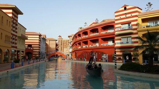 Porto Marina Resort & Spa: A gondola ride
