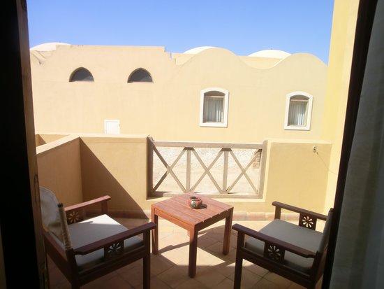 Radisson Blu Resort, El Quseir: il terrazzino della camera