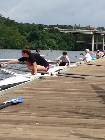 Texas Rowing Center: Summer Learn to Row Camp at TRC
