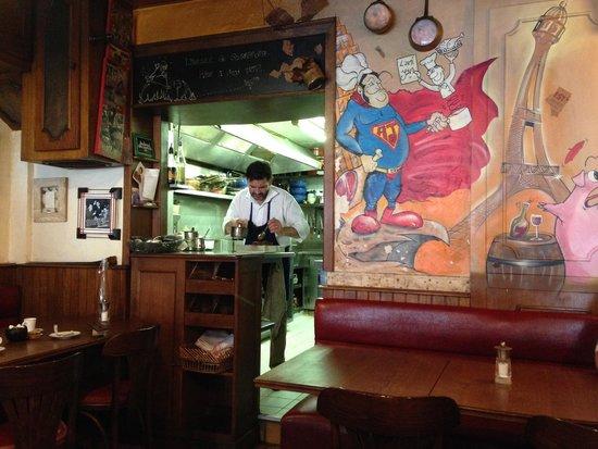 L'Ami Jean: Chef Stephane at work