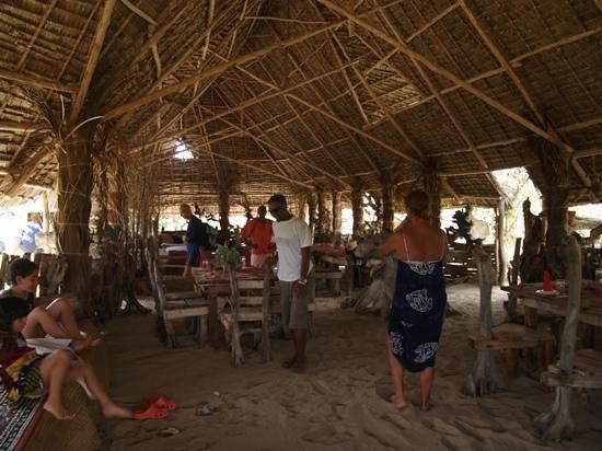 Robinson's Island: pranzo