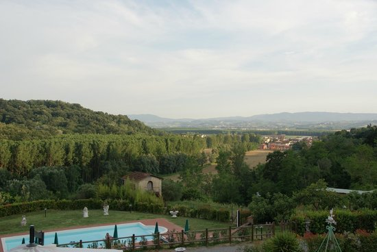 Podere Chiaromonte: View from the room