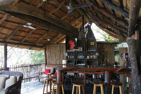Caprivi Houseboat Safaris: Bar Deck