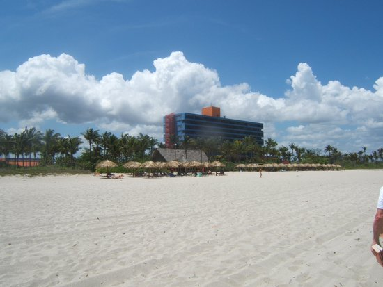 Hotel Club Puntarena: Hotel view from Beach