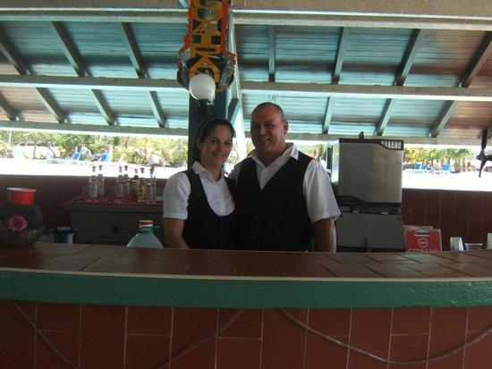 Hotel Club Puntarena: Dami and Alfredo (my family)