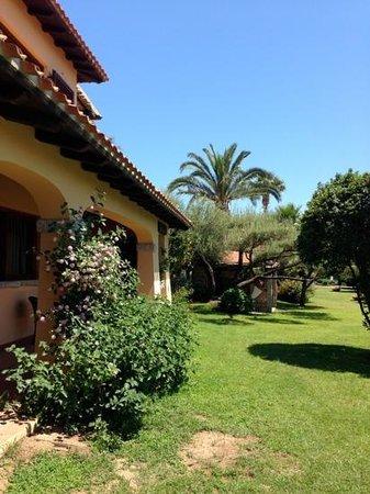Hotel Club Saraceno: il giardino