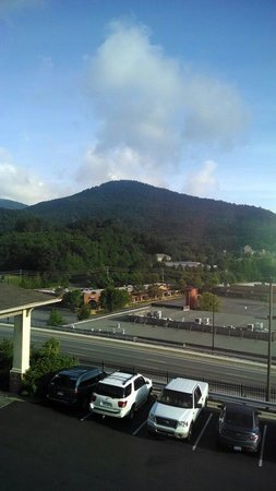 Quality Inn & Suites University: View from Room 316 3rd floor awesome!