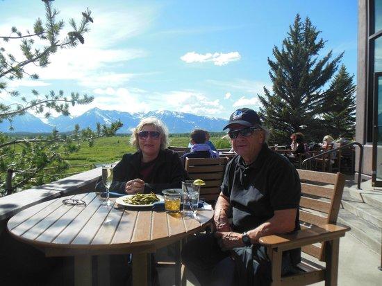 Drink at Jackson Lake Lodge
