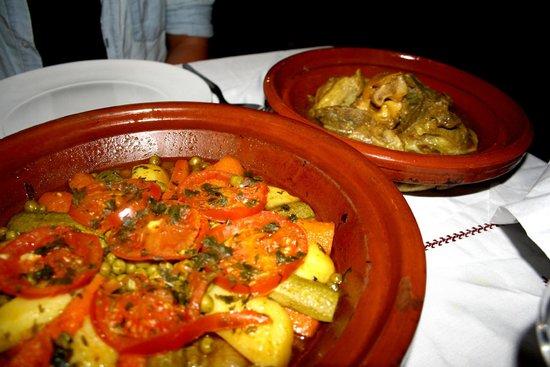 Riad Maison Belbaraka: Das Dinner im Riad