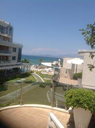 Ilica Hotel Spa & Thermal Resort : oda manzarasi