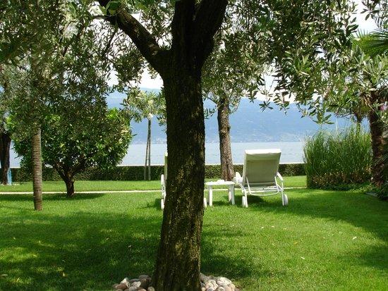 Hotel Villa Giulia: Blick von der eigenen Terrasse aus