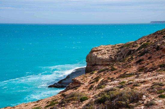 Ceduna, Australien: cliffs