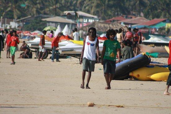 Resorte Marinha Dourada: Пляж - территория свободы.