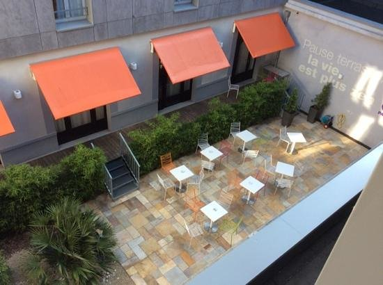 Inter-Hotel San Benedetto : vue sur la patio