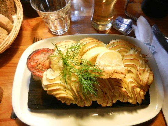 Restaurant Puk : salmone e purè