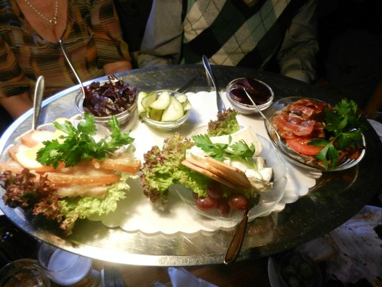 Restaurant Puk : antipasti misti