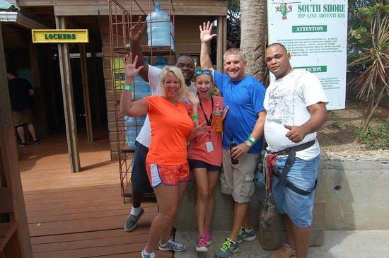 South Shore Zipline: Great guides