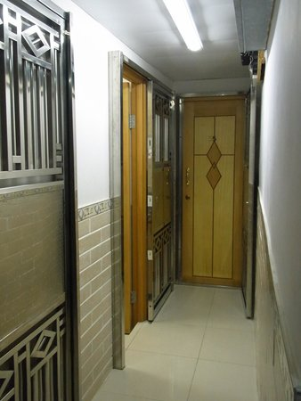 Hao's Inn : inside the unit where there are 4 rooms