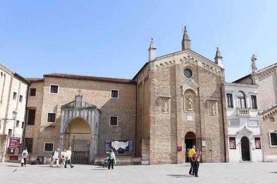 Basilica di Sant'Antonio - Basilica del Santo: Detalhes da fachada