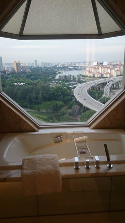 The Ritz-Carlton, Millenia Singapore: Bathroom View
