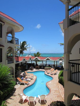 SunBreeze Suites: View from our room patio