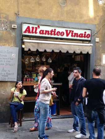 All' Antico Vinaio : The front