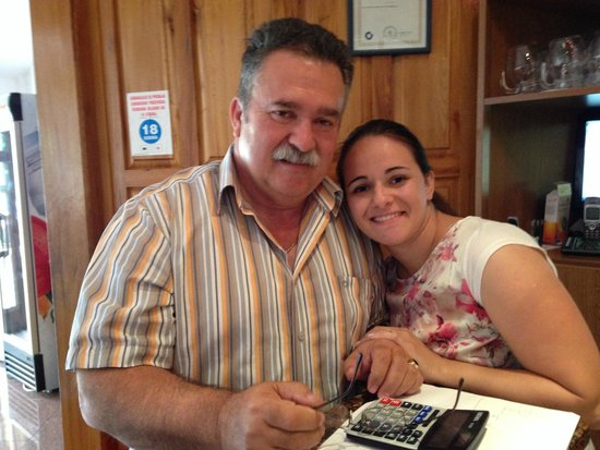 Pansion Kiko : Kiko himself! And his daughter Marina.