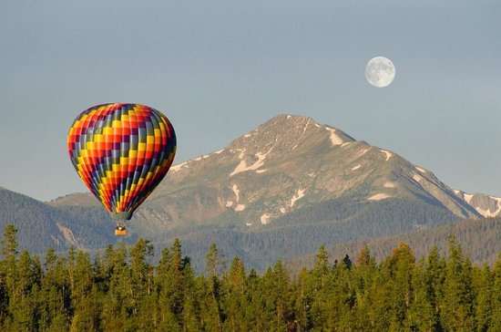 Winter Park, CO: Grand Adventure Balloon Tour in Grand County!