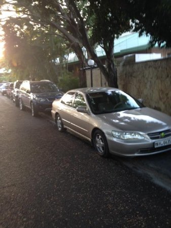 ClubHotel Riu Merengue: How I was expected to park my car