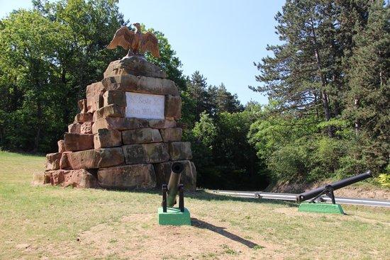 Fort de Mutzig : monument aan de ingang