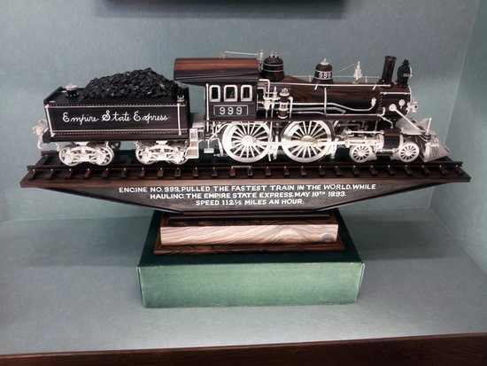 Warther Museum: empire state express