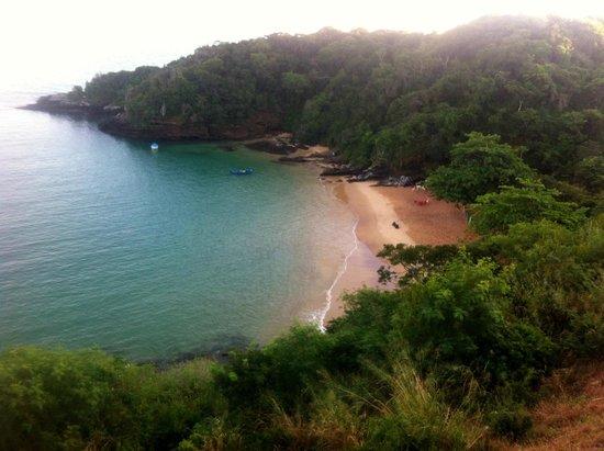 Joao Fernandinho Beach : vista desde el hotel