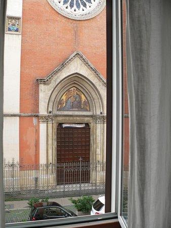 Twice B&B: Вид из окна номера