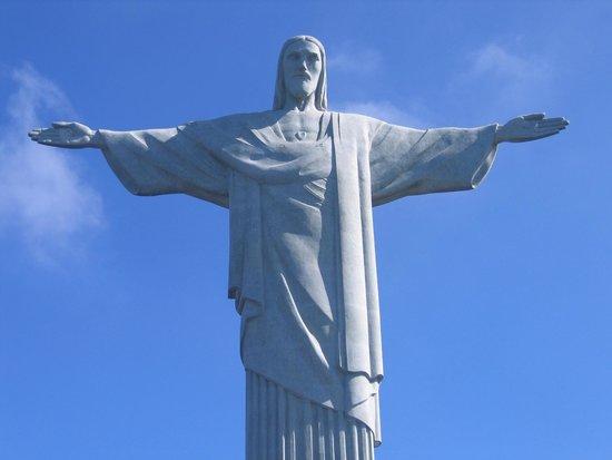 Statue du Christ Rédempteur : Corcovado