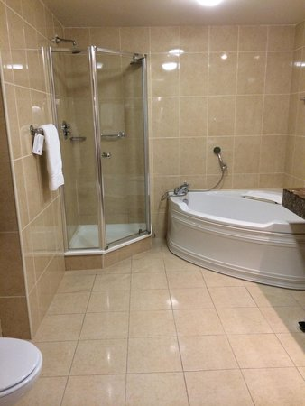 The Brehon : Bathroom with heated floors