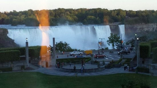 """Sheraton on the Falls: Our beautiful view from a """"partial view room"""""""