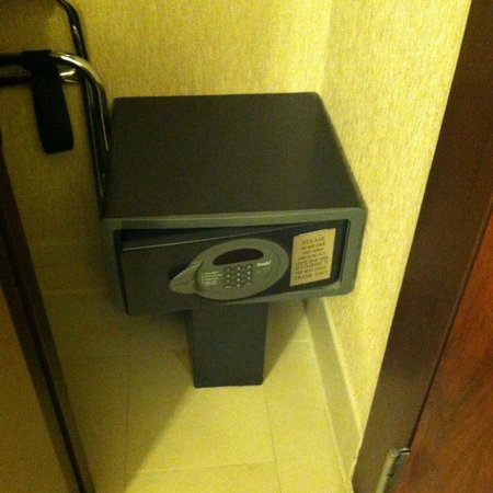 Bally's Atlantic City: In-room safe - a plus.