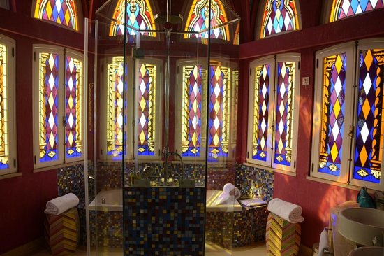 Bela Vista Hotel & Spa: Les vitraux ...
