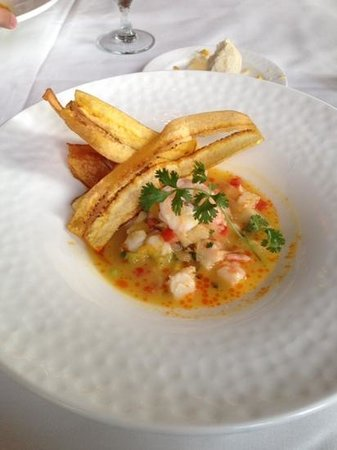 Mesa Grill : shrimp and Grouper Ceviche a masterpiece!!