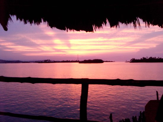Yandup Island Lodge: Pôr do sol em Yandup