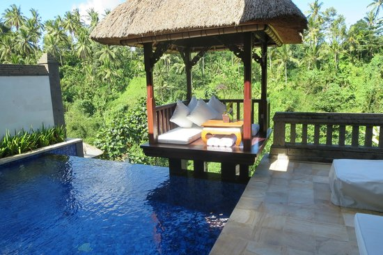 Viceroy Bali: private infinity pool