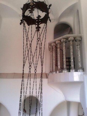 Torre Bellesguard Antoni Gaudi: interior
