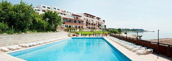 Kavarna, Bulgarien: Pool area