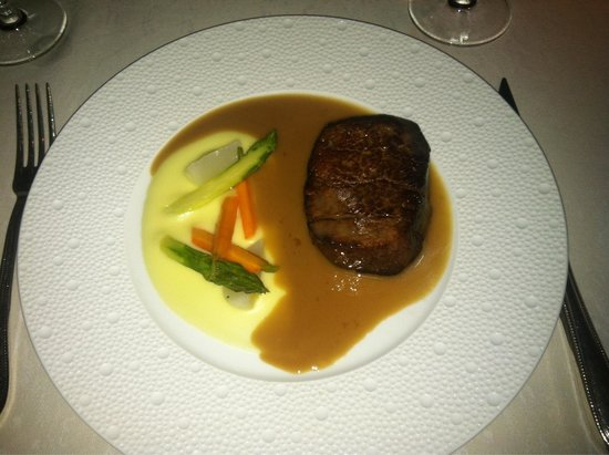 Blue By Eric Ripert: My steak! AMAZING