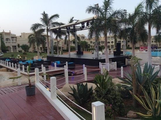 Rixos Sharm El Sheikh: Outdoor stage for shows