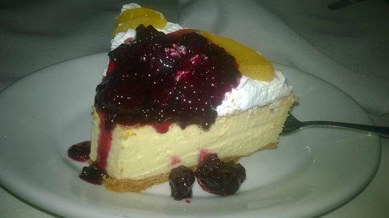Fogo Brasil Restaurant: Cheesecake!