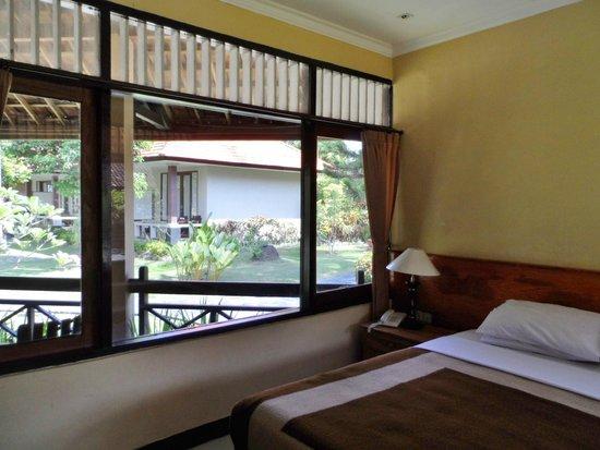Mascot Beach Resort: Vu depuis le bungalow