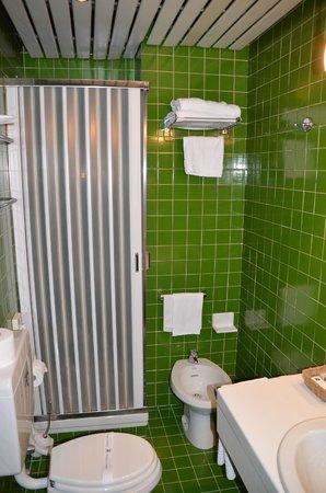Hotel Re Enzo : My bathroom