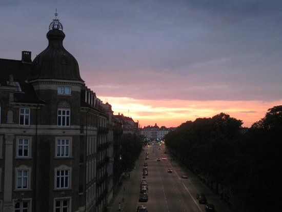 Babette Guldsmeden - Guldsmeden Hotels: Sunset view from our room